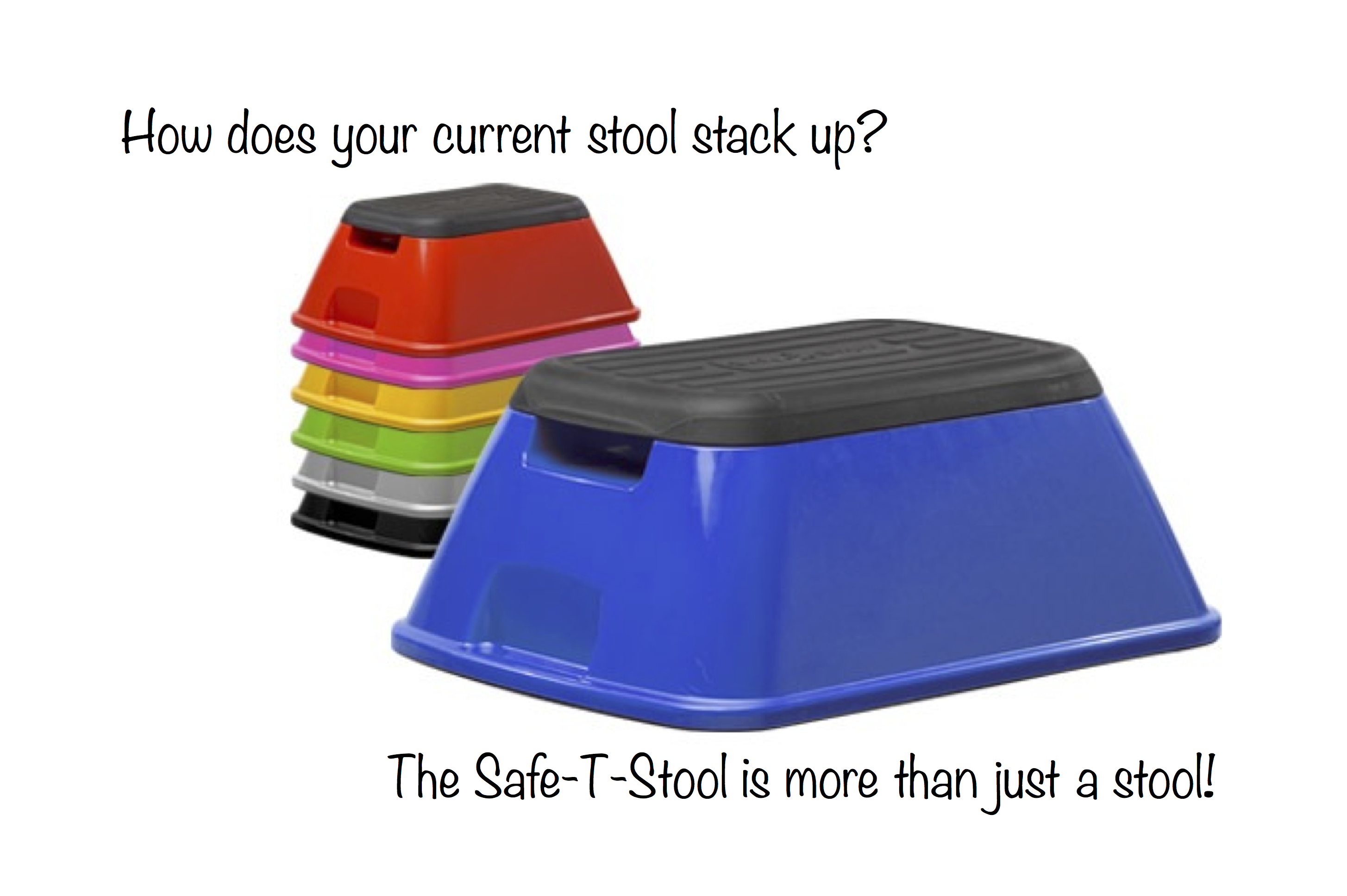 No Tip Step Stool By Safe T Stool